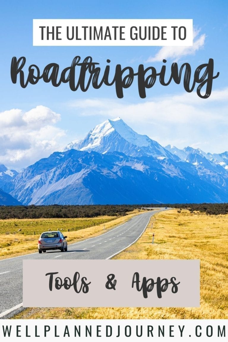 Road trip planning tools & apps