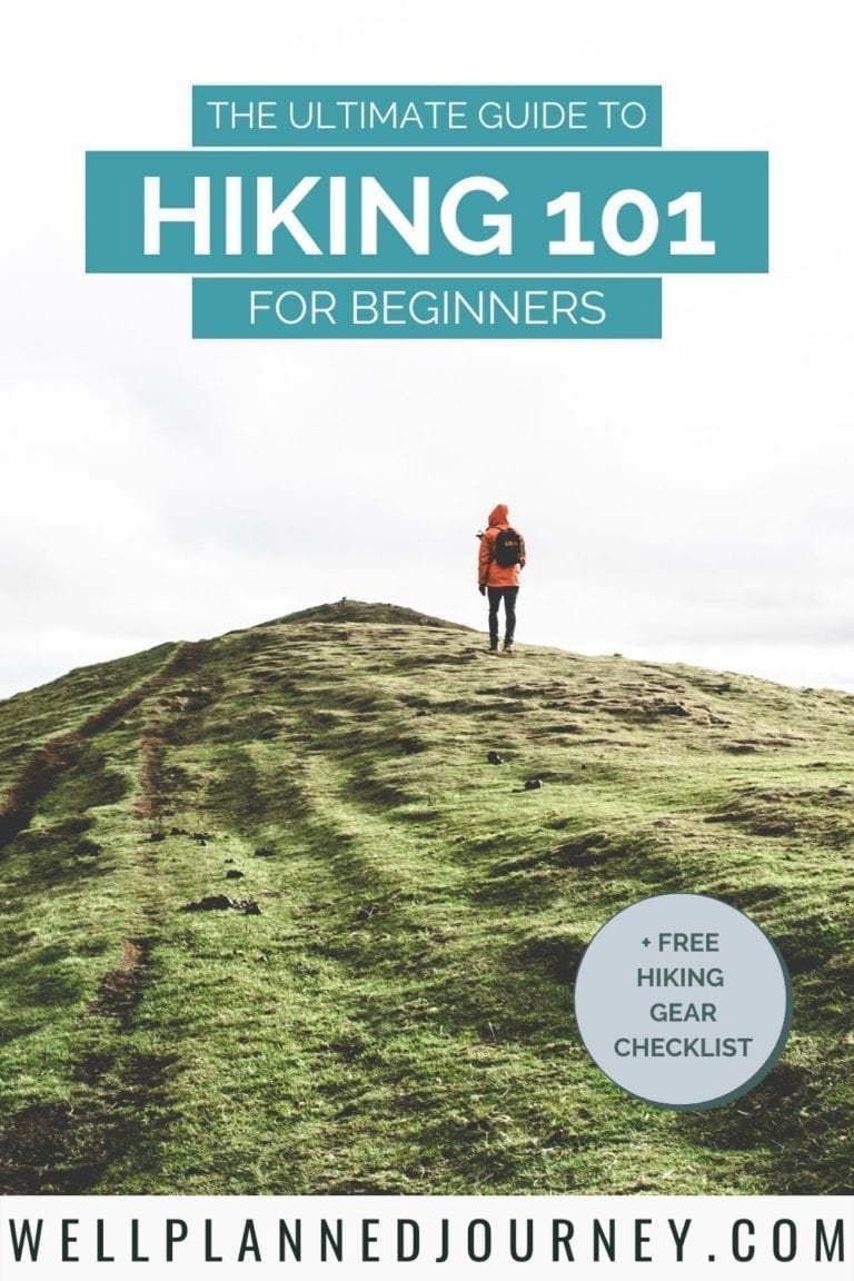 Save this Hiking for Beginners guide on Pinterest!