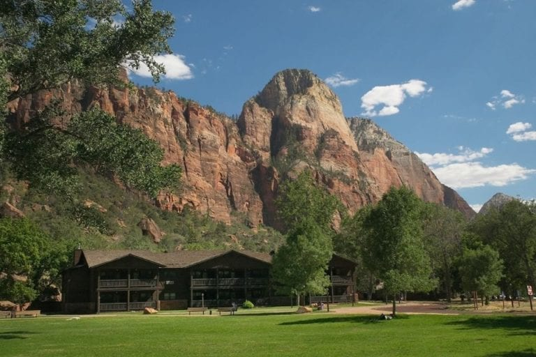 Zion Lodge in Zion National Park in Utah