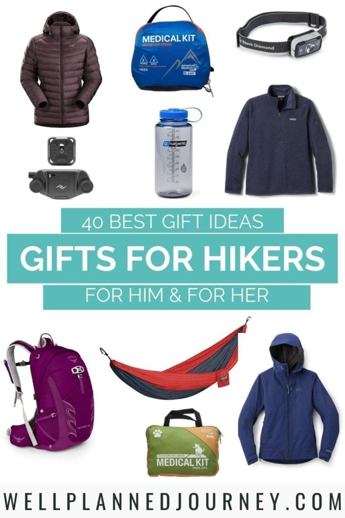 40 Best Hiking Gifts Pinterest Pin