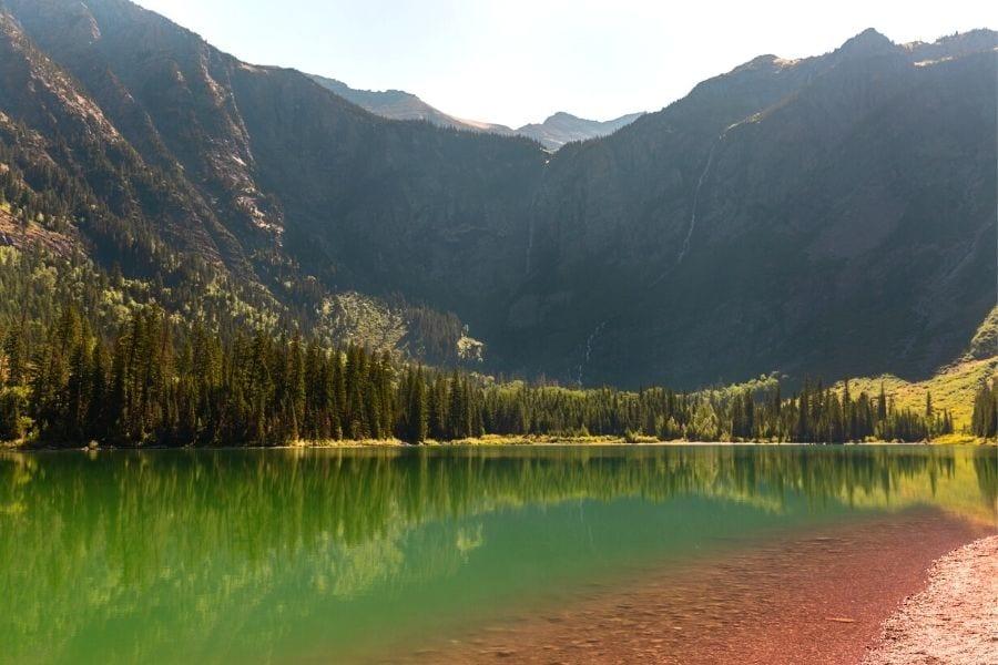Avalanche Lake hike in Glacier National Park