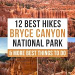 Best Bryce Canyon hikes Pinterest Pin