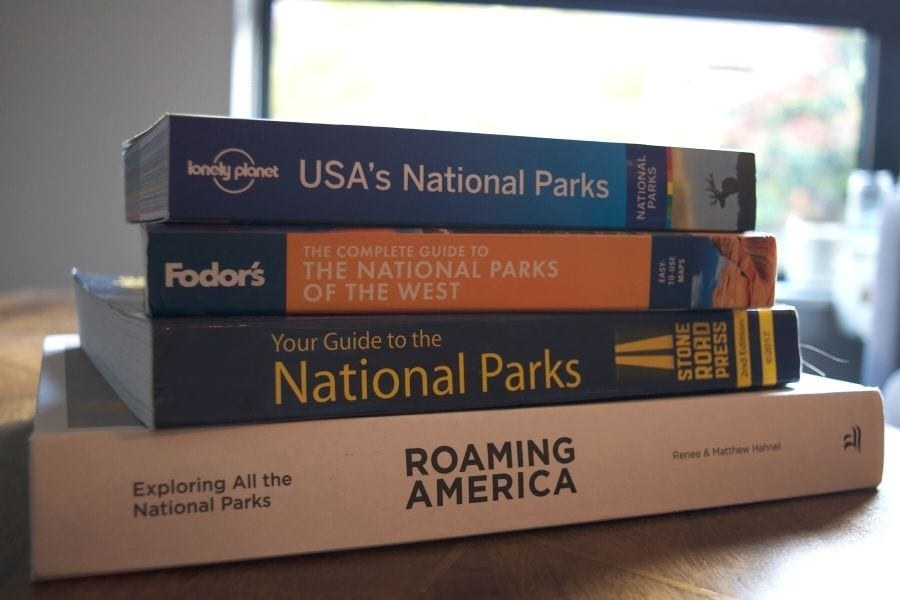 Best national park book on coffee table