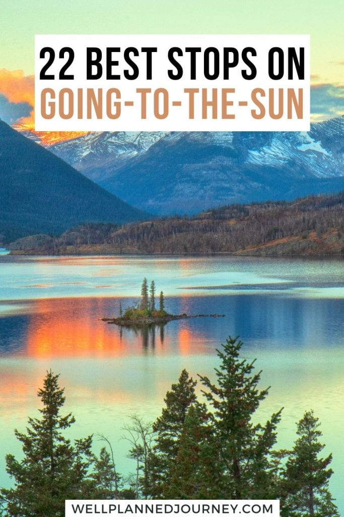 Going-to-the-Sun Road 2021 Pinterest Pin