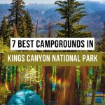 Best Camping in Kings Canyon National Park Pinterest Pin