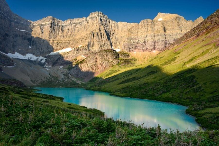 Cracker Lake hike in Glacier National Park