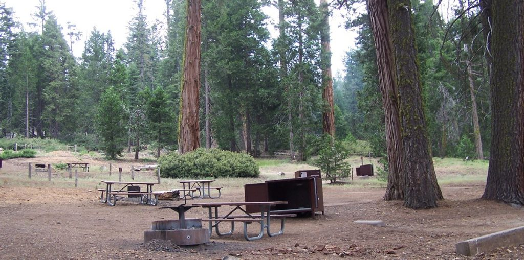 Crystal Springs Campground in Kings Canyon National Park