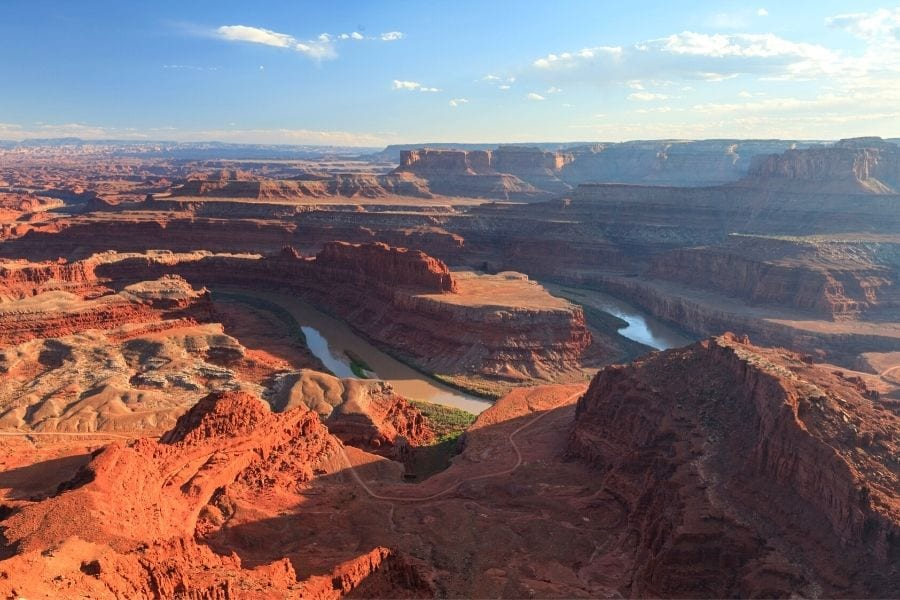 Dead Horse Point State Park overlook in Utah