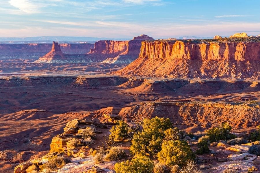 Grand Viewpoint in Canyonlands National Park