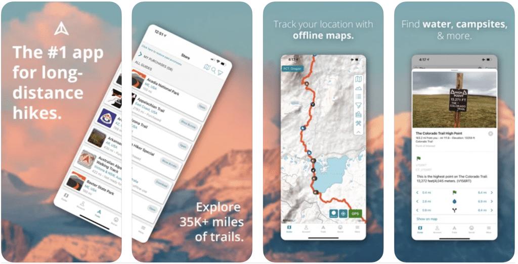 Guthook Guides Hiking App