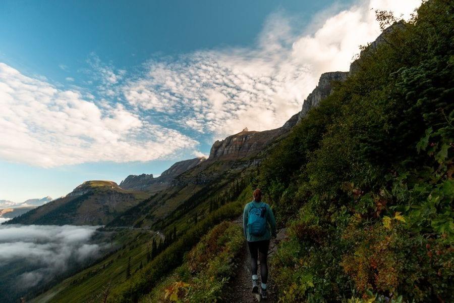 Hiking the Highline Trail in Glacier National Park