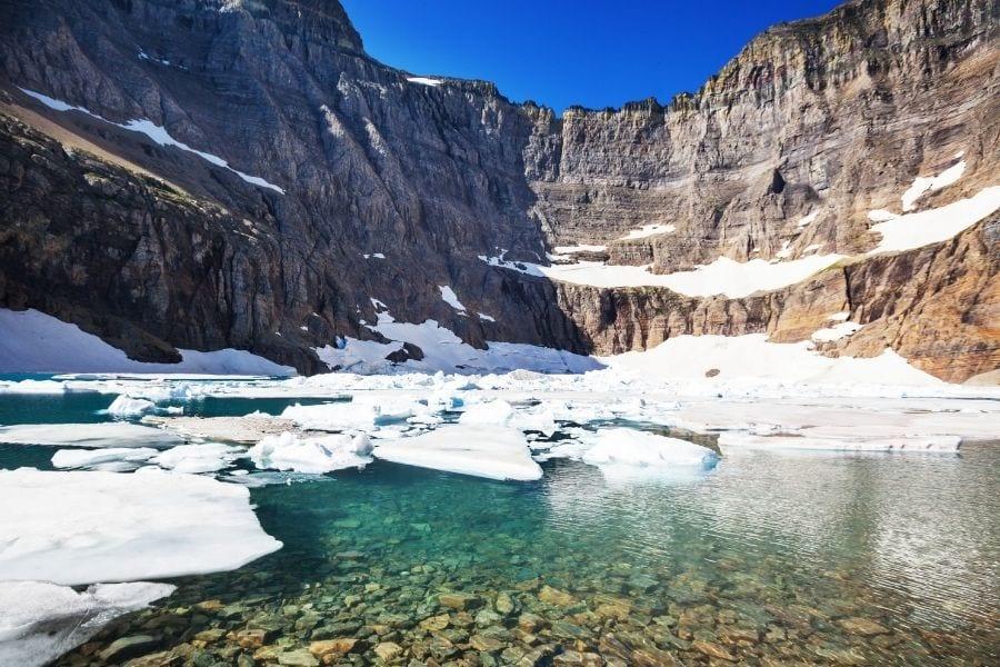 Iceberg Lake in Glacier National Park