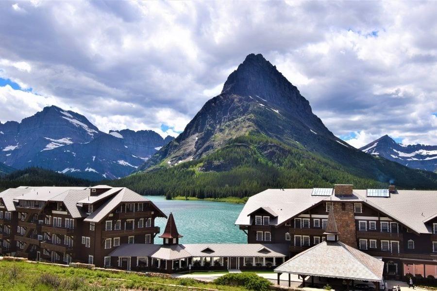 Many Glacier Hotel in Glacier National Park