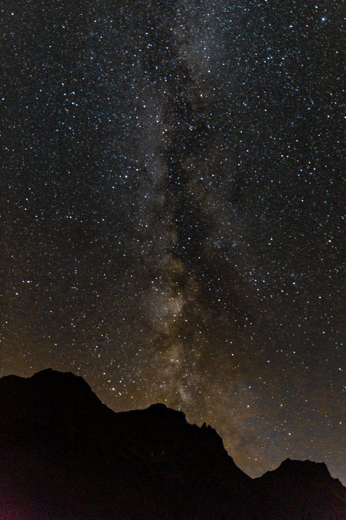 Milky Way in Glacier National Park