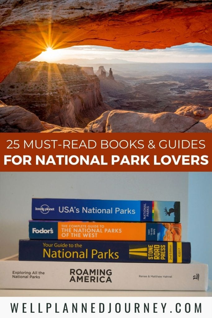 Best national park book recommendations Pinterest Pin