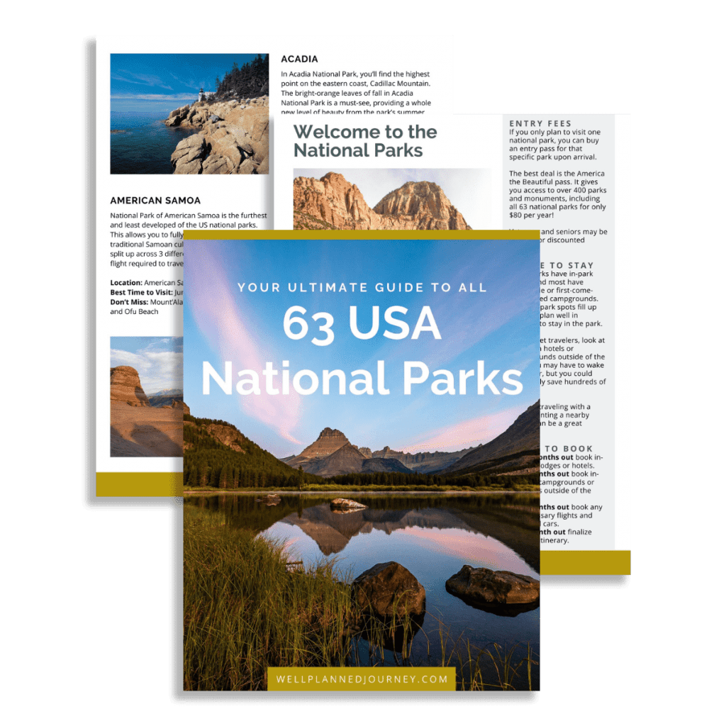 National Park Ebook