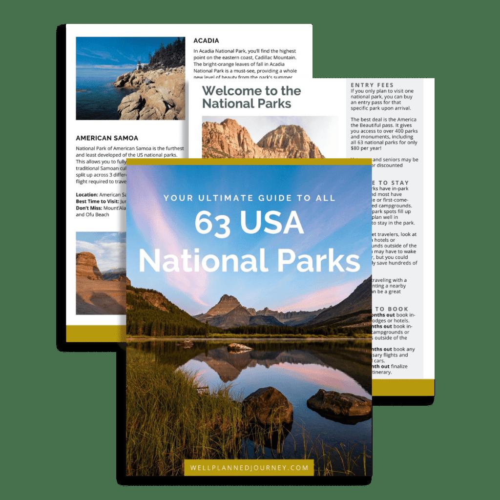 National Park Ebook