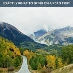 100+ road trip essentials for your road trip packing list Pinterest pin