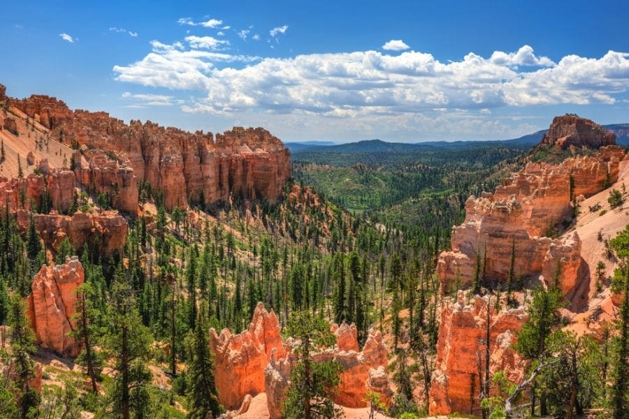 Swamp Canyon Overlook hike in Bryce Canyon