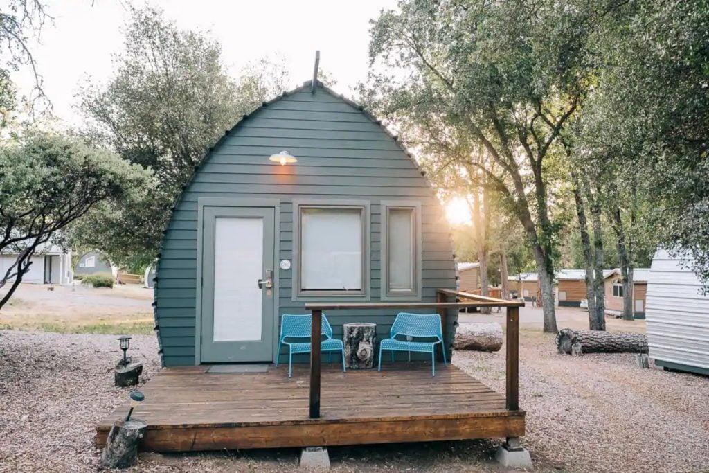Unique Yosemite Micro Cabin
