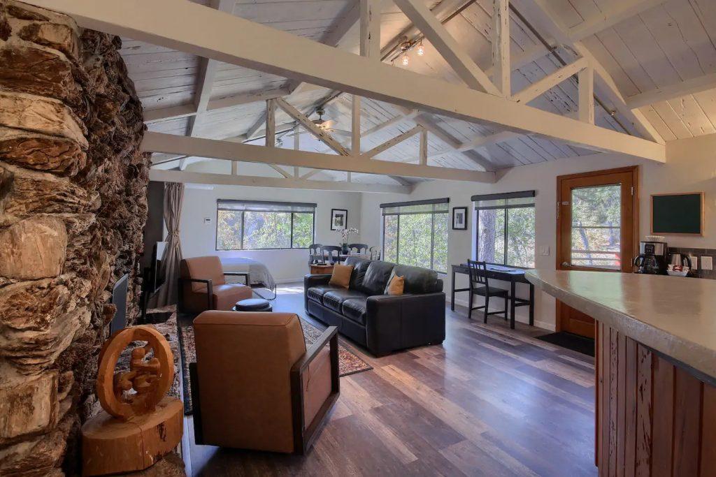 Waterfall House Yosemite Airbnb