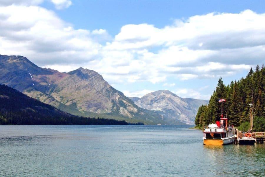 Waterton Lake Boat Tour in Canada