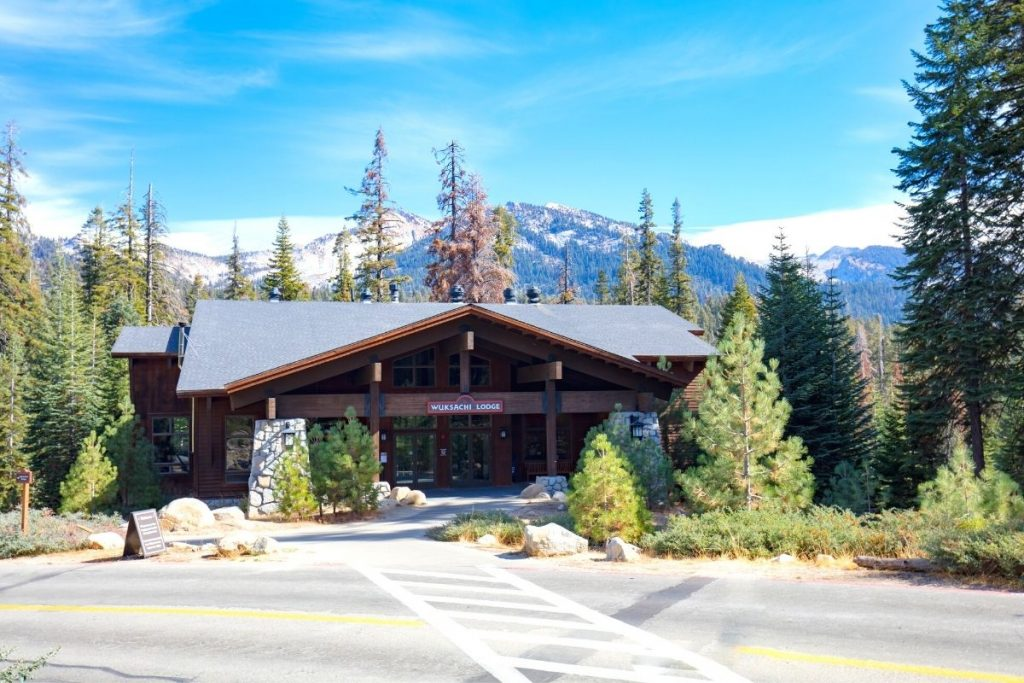 View of Wuksachi Lodge in Sequoia National Park
