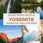 Best Yosemite Photography Spots Pinterest Pin