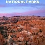 Zion to Bryce Canyon Road Trip Pinterest Pin