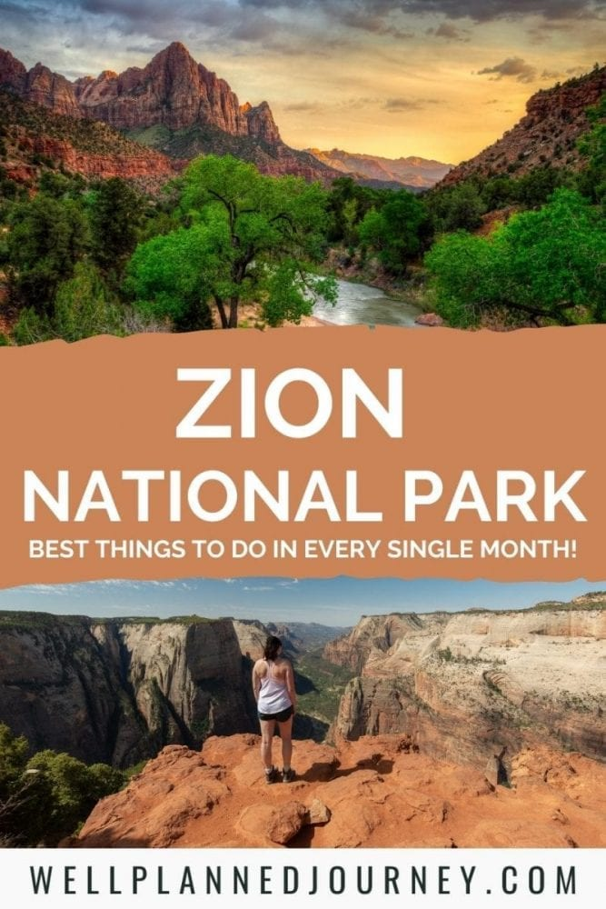 This is the Absolute Best Time to Visit Zion National Park